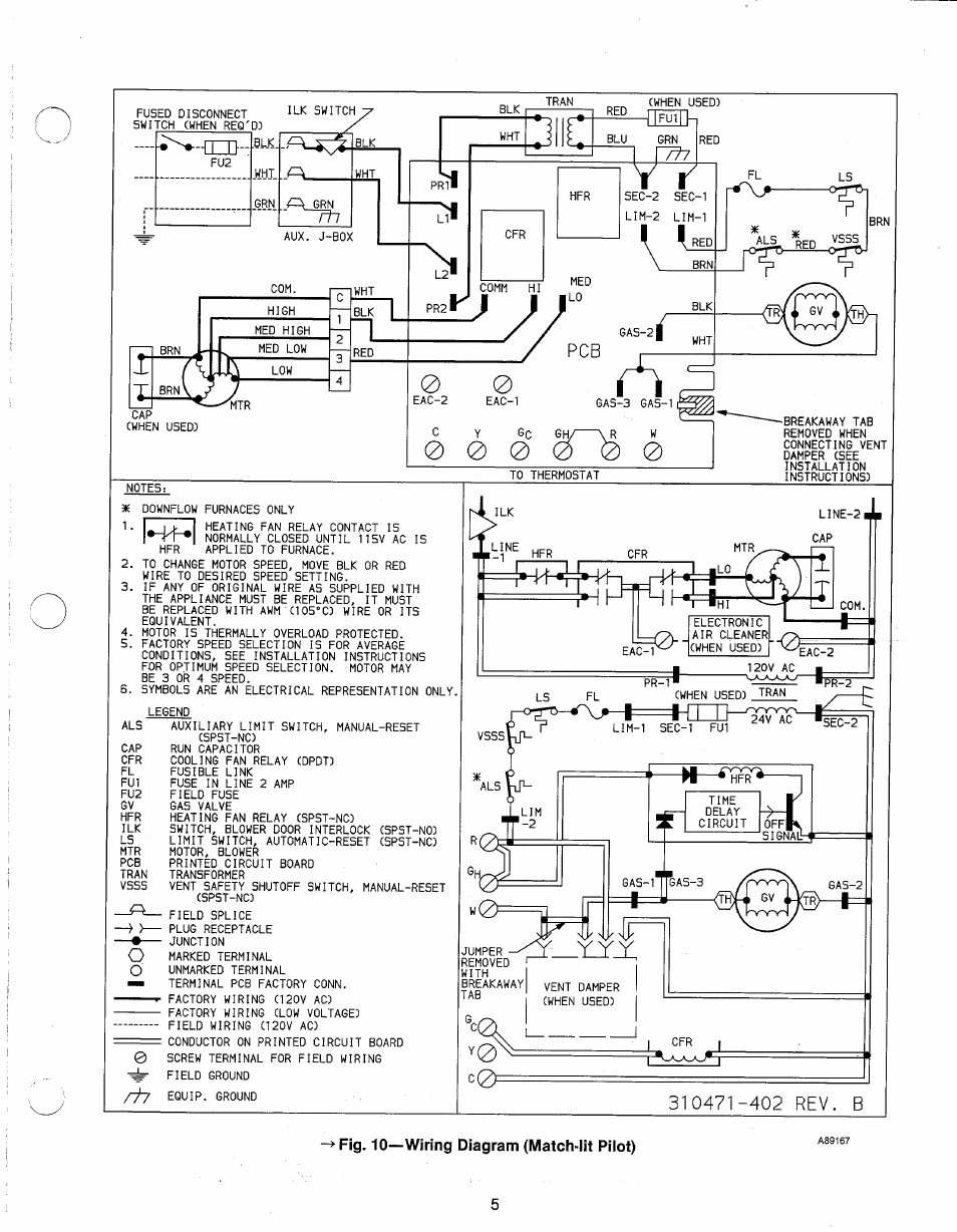 Fig 10wiring Diagram Match Iit Pilot Carrier 58dr User Manual Kiln Wiring Page 5 12
