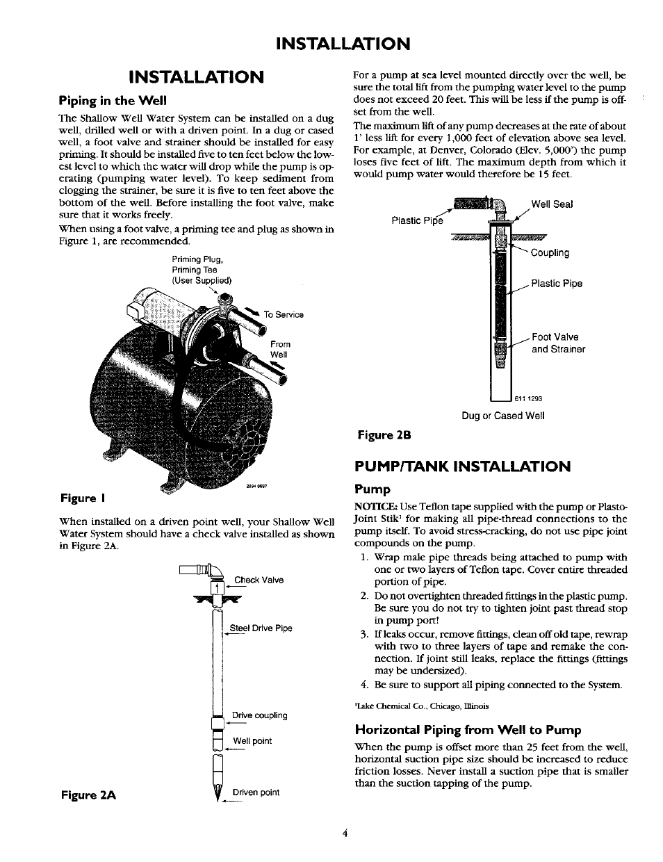 Craftsman Jet Pump Wiring Diagram Diagrams Data Base Honda Gx390 Electric Start Moreover Jeep Cherokee Fuel Installation Piping In The Well Sears 390 2521 User Manual At