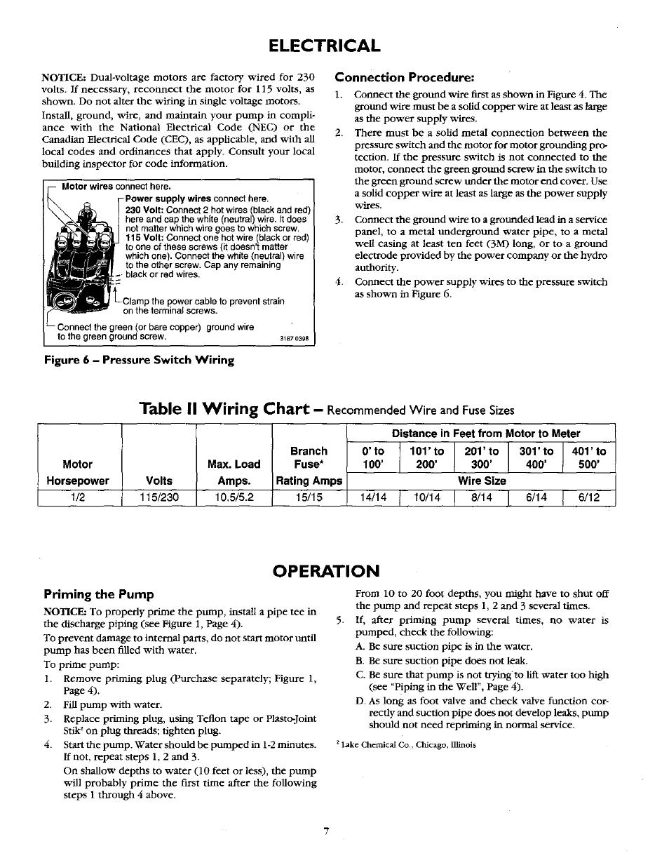 electrical connection procedure operation sears 390 2521 user rh manualsdir com Craftsman Instruction Manual Craftsman Instruction Manual