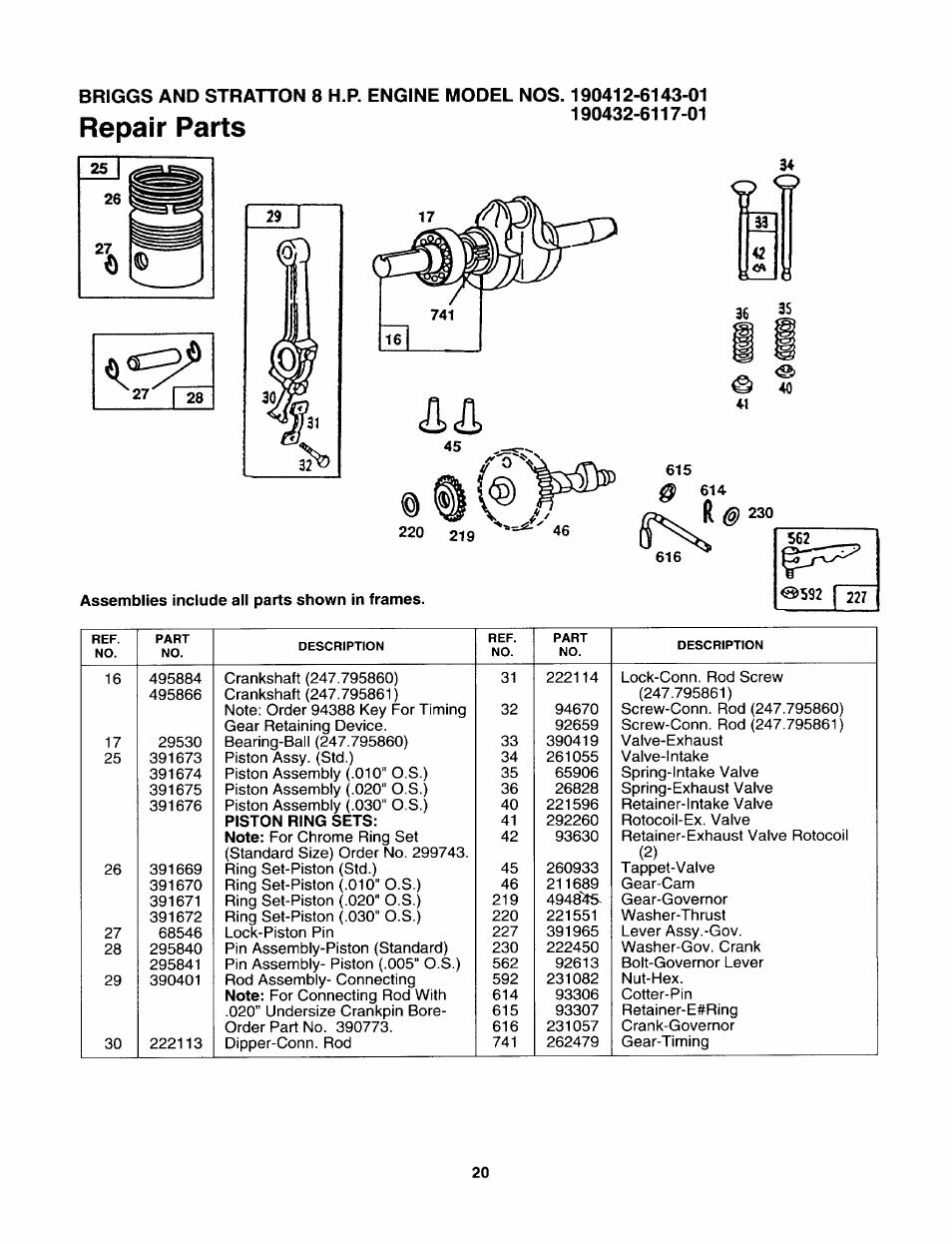 repair parts sears 247 795860 user manual page 20 24 rh manualsdir com sears user manuals online sears user manual 916915