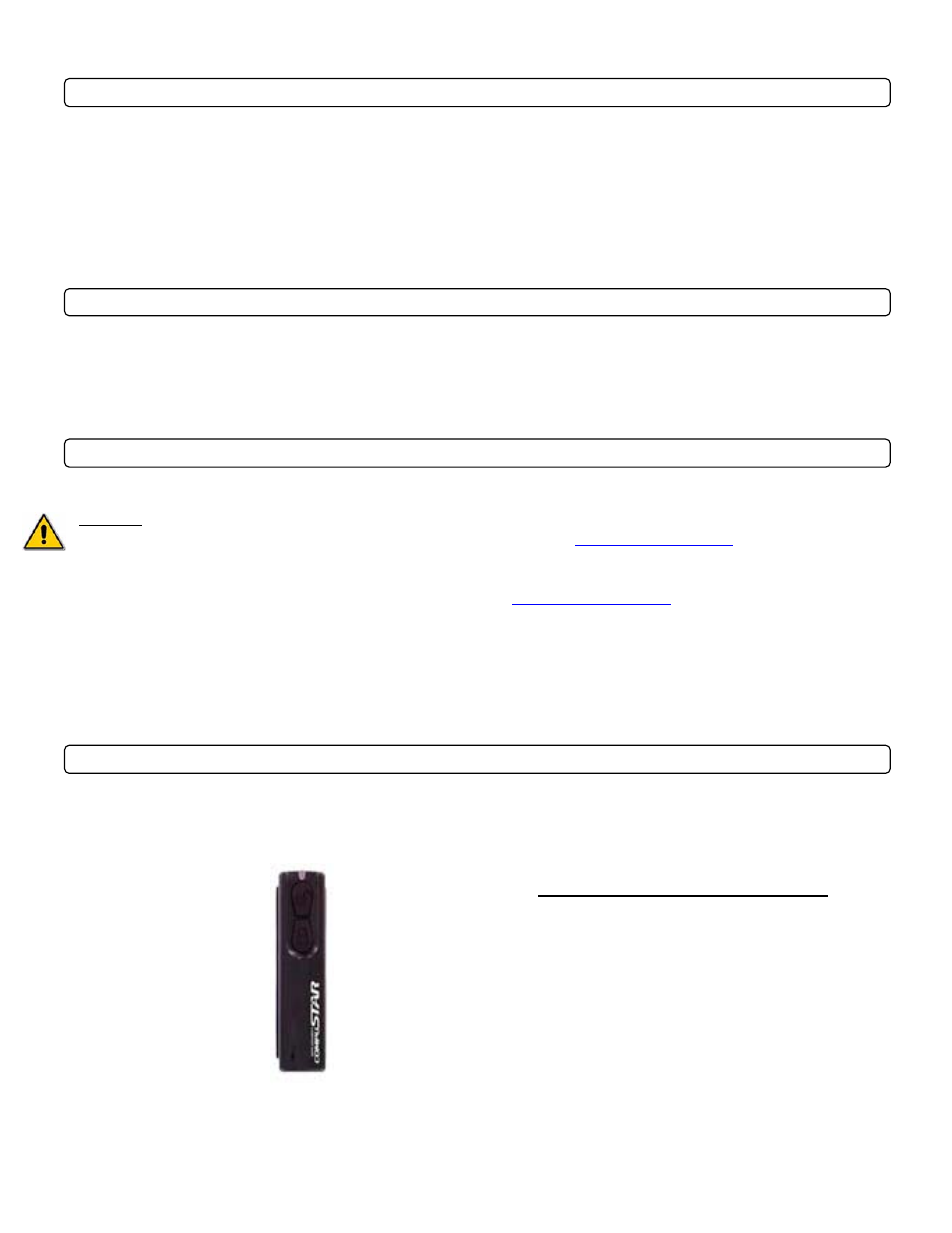 Introduction, Kit(s) contents, Remote reference | Warranty coverage |  CompuSTAR CM1000