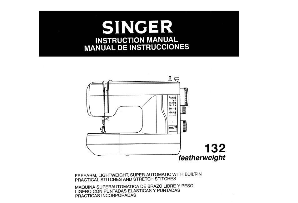 singer 132q featherweight user manual 32 pages also for 132 rh manualsdir com singer 132q featherweight manual online