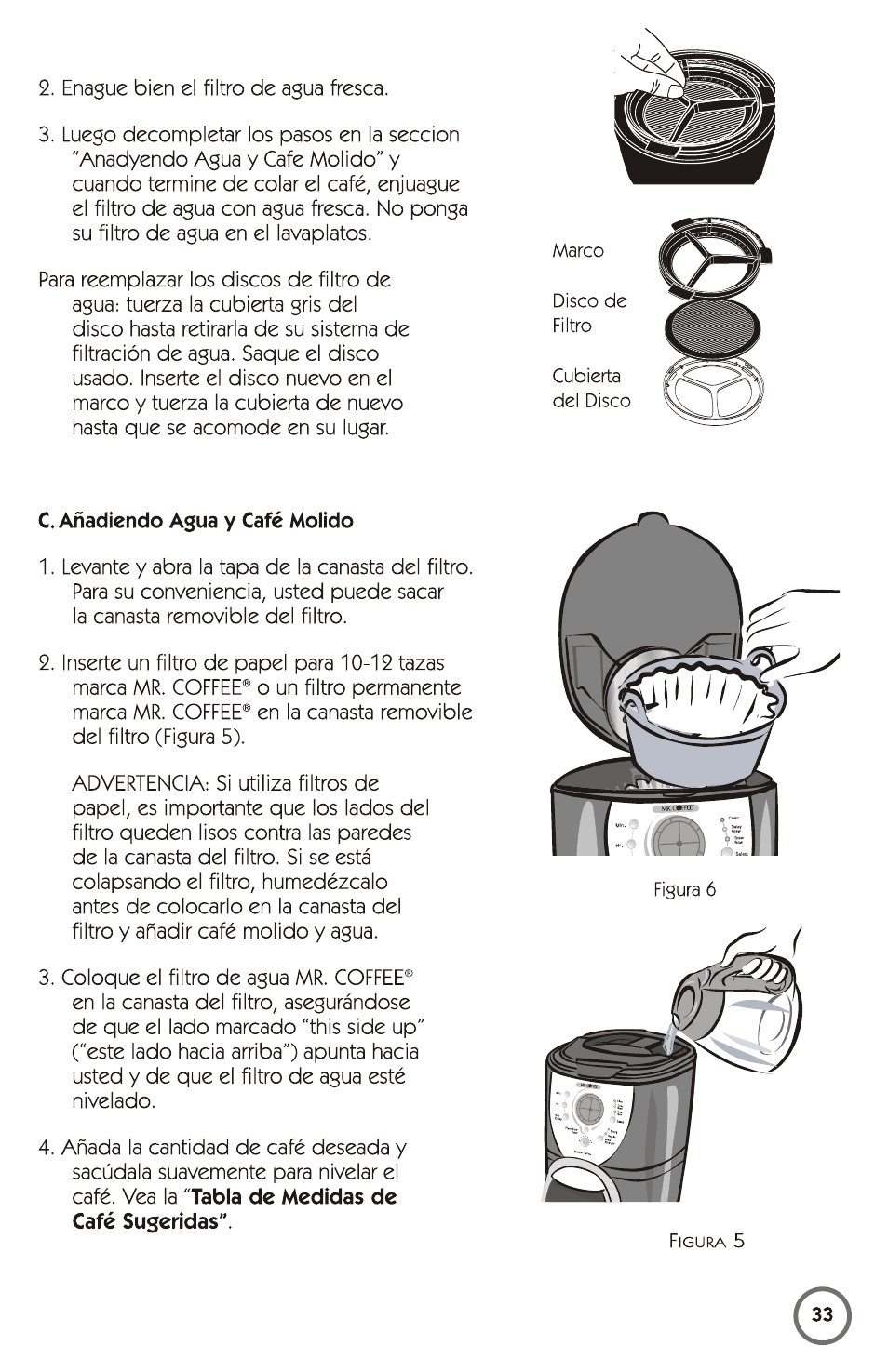 Mr. Coffee skx23 user manual | 13 pages | original mode | also for.
