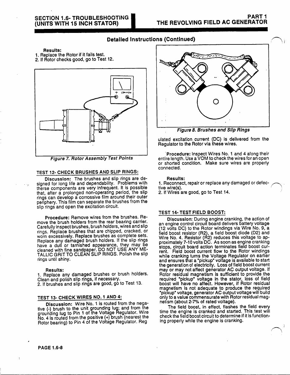 Parti The Revolving Field Ac Generator Generac Power Systems 53187 Wire Ring Diagram User Manual Page 36 152