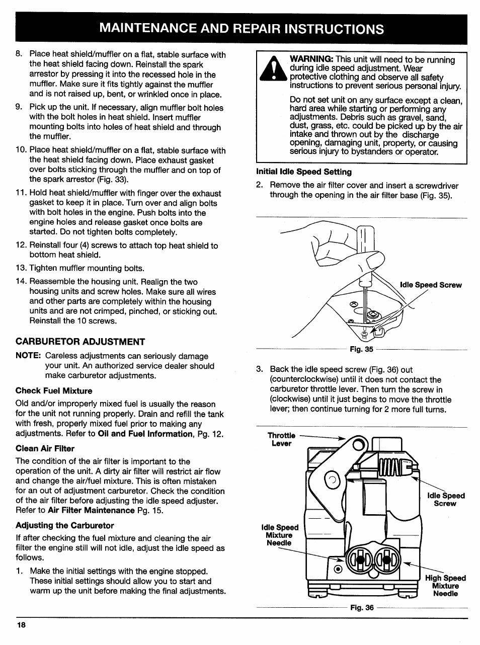 Carburetor Carb Rebuild Or Adjustment Manual Guide