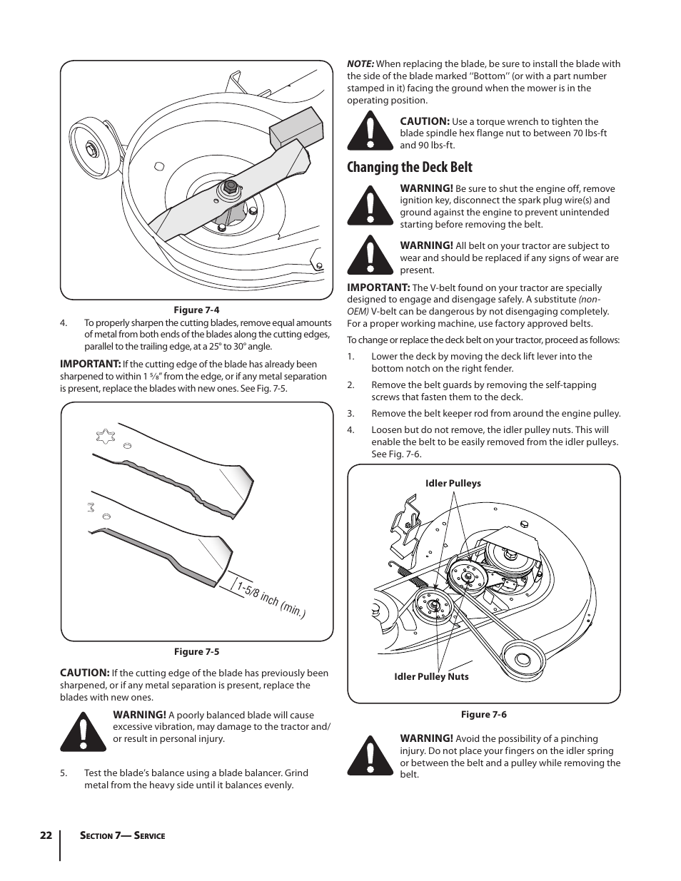 Changing the deck belt | Troy-Bilt Pony User Manual | Page