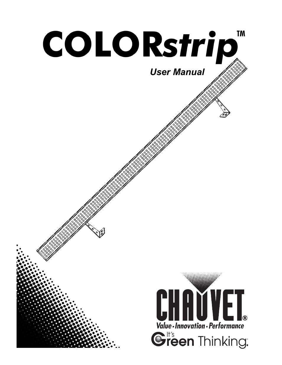 chauvet colorstrip user manual 17 pages rh manualsdir com Corvette Owners Manual User Manual PDF