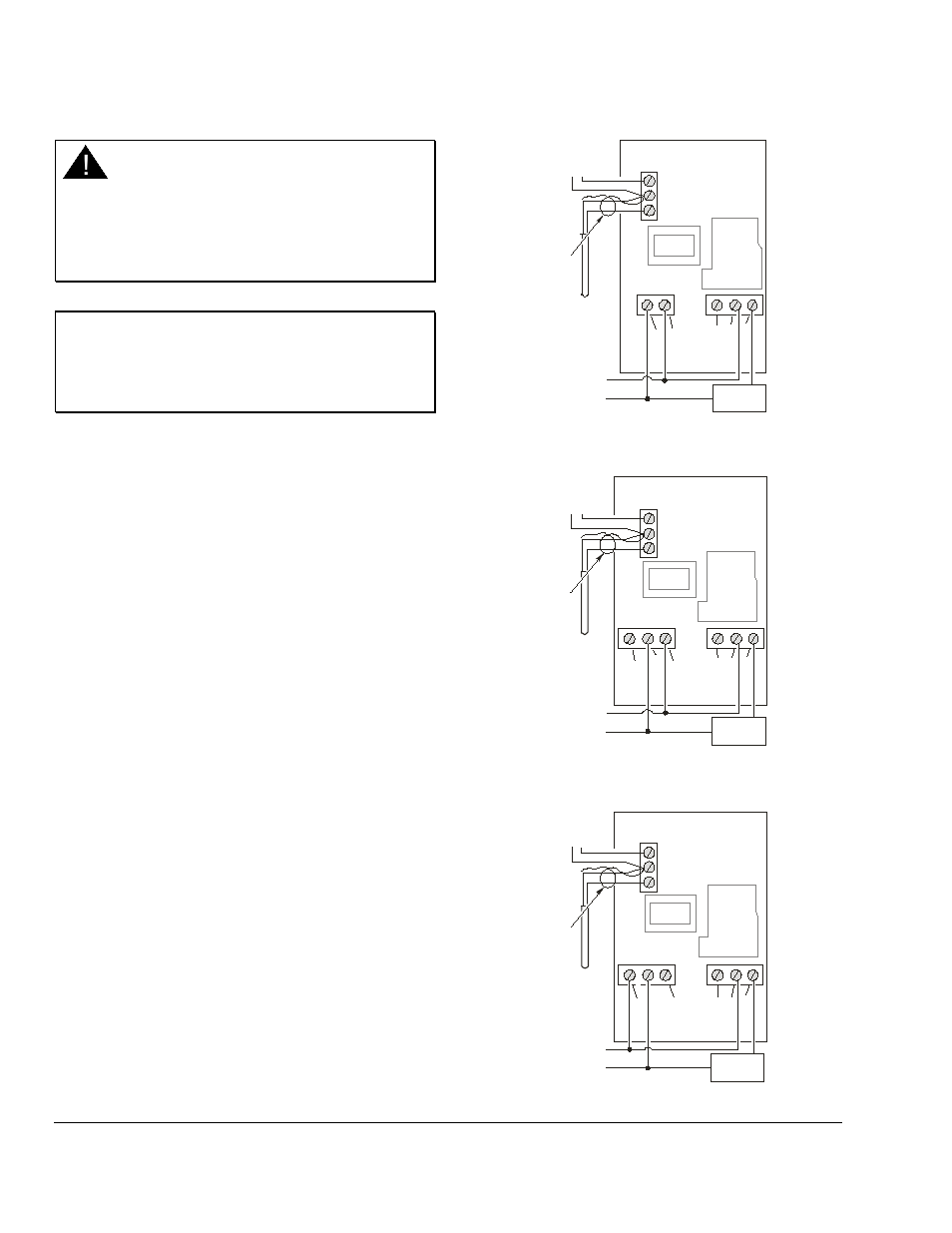 Johnson Controls A419 Wiring Diagram Not Lossing Honeywell Ignition Module Series User Manual Page 6 12 Rh Manualsdir Com Thermostat Pro
