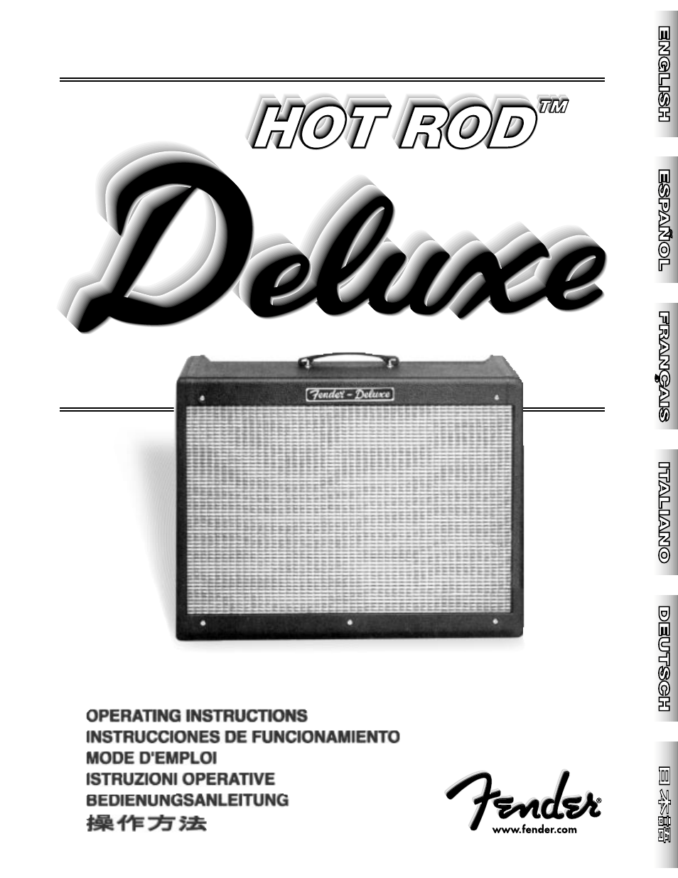 fender hot rod deluxe user manual 20 pages original mode rh manualsdir com fender hot rod deluxe user manual fender hotrod deluxe service manual