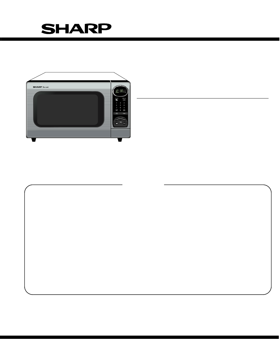 Microwave High Voltage Circuit Diagram Divider Tradeoficcom Sharp Carousel R 305ks User Manual 40 Pages
