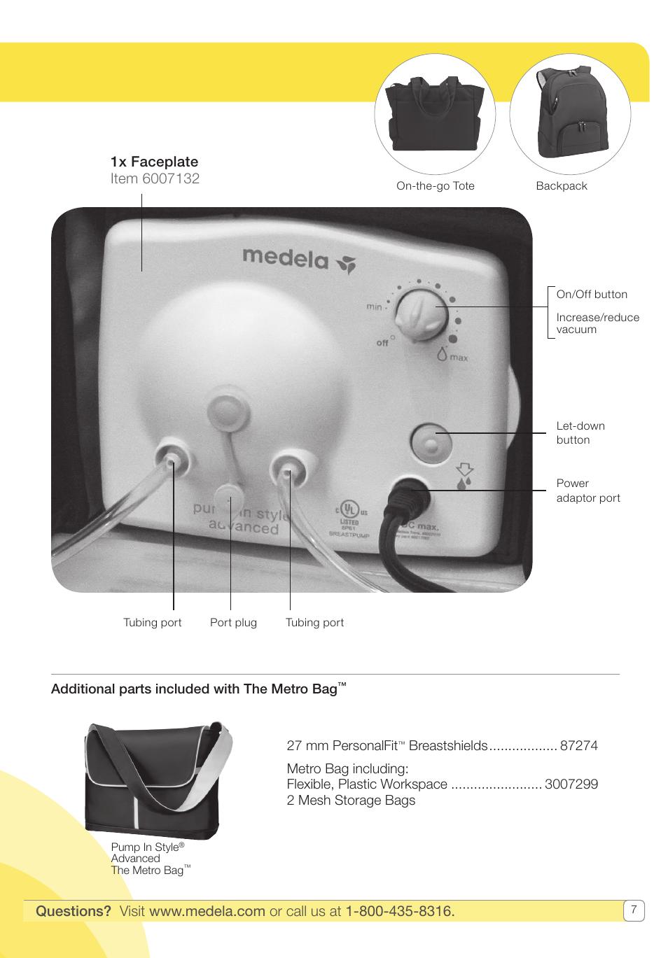 medela pump in style user manual page 7 100 original mode rh manualsdir com Medela Manual Pump Medela Manual Large Flange