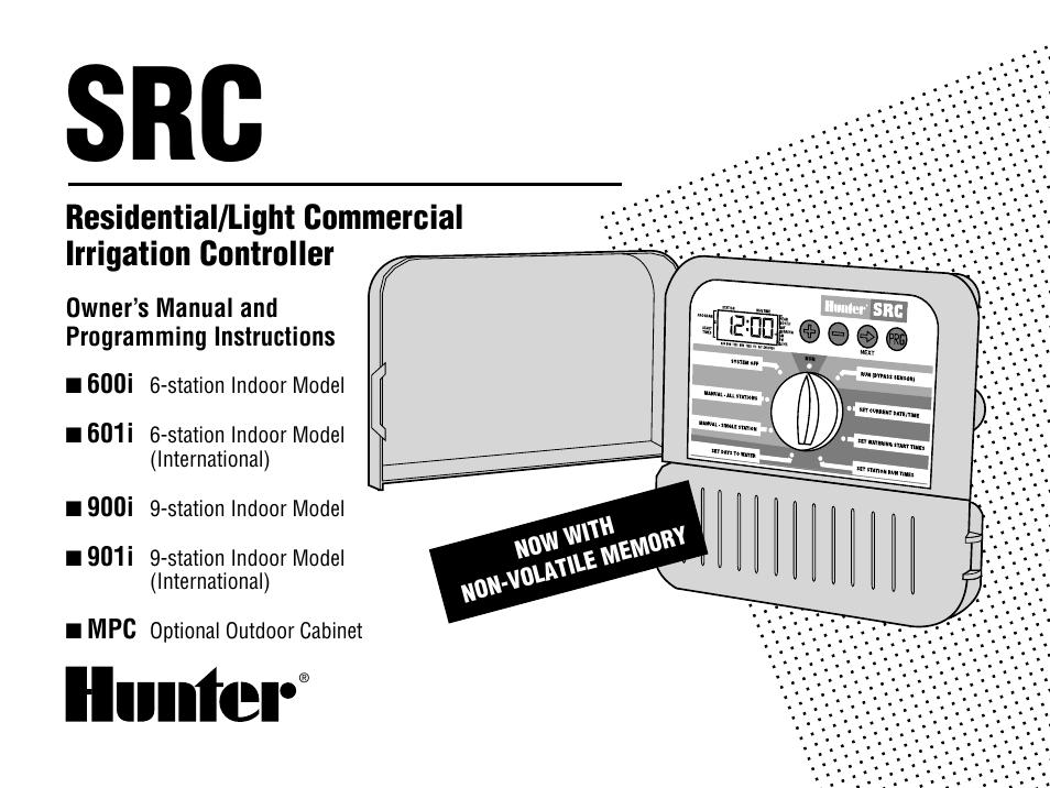 [SCHEMATICS_4LK]  Hunter SRC User Manual | 32 pages | Hunter Src Wiring Diagram |  | Manuals Directory