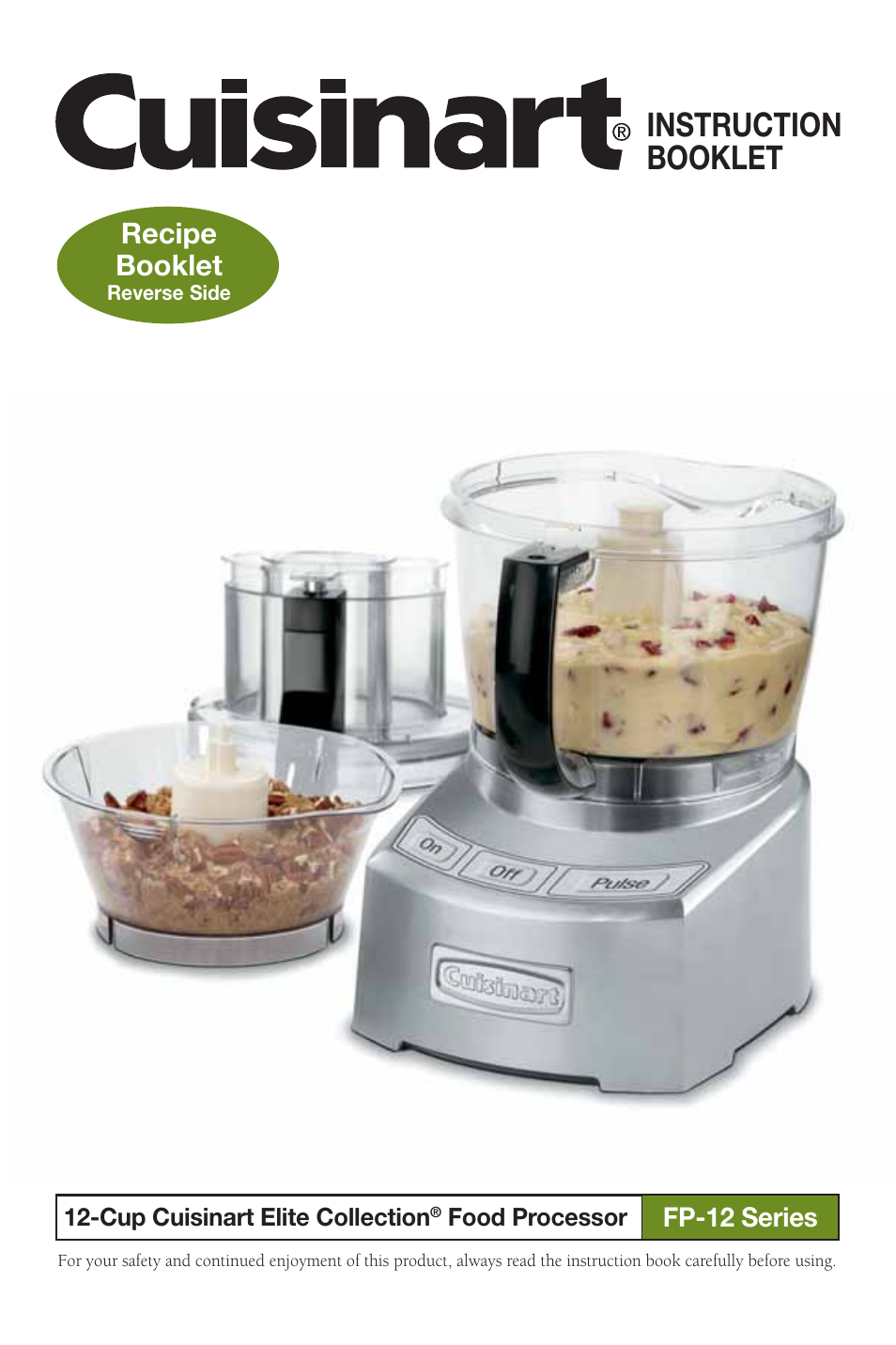 Cuisinart Food Processor Fp Dc Manual