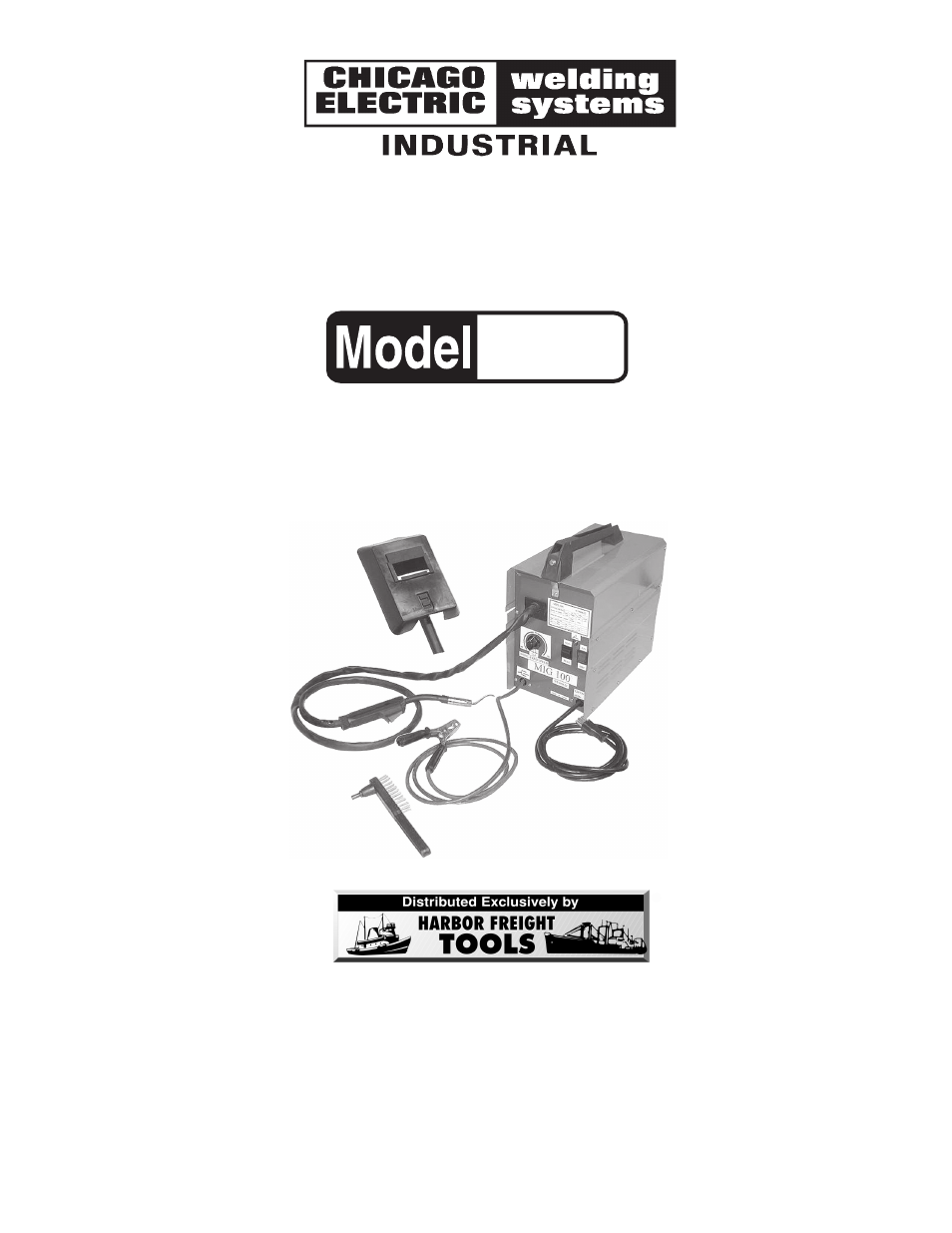 Chicago Electric Mig 100 91124 User Manual 13 Pages
