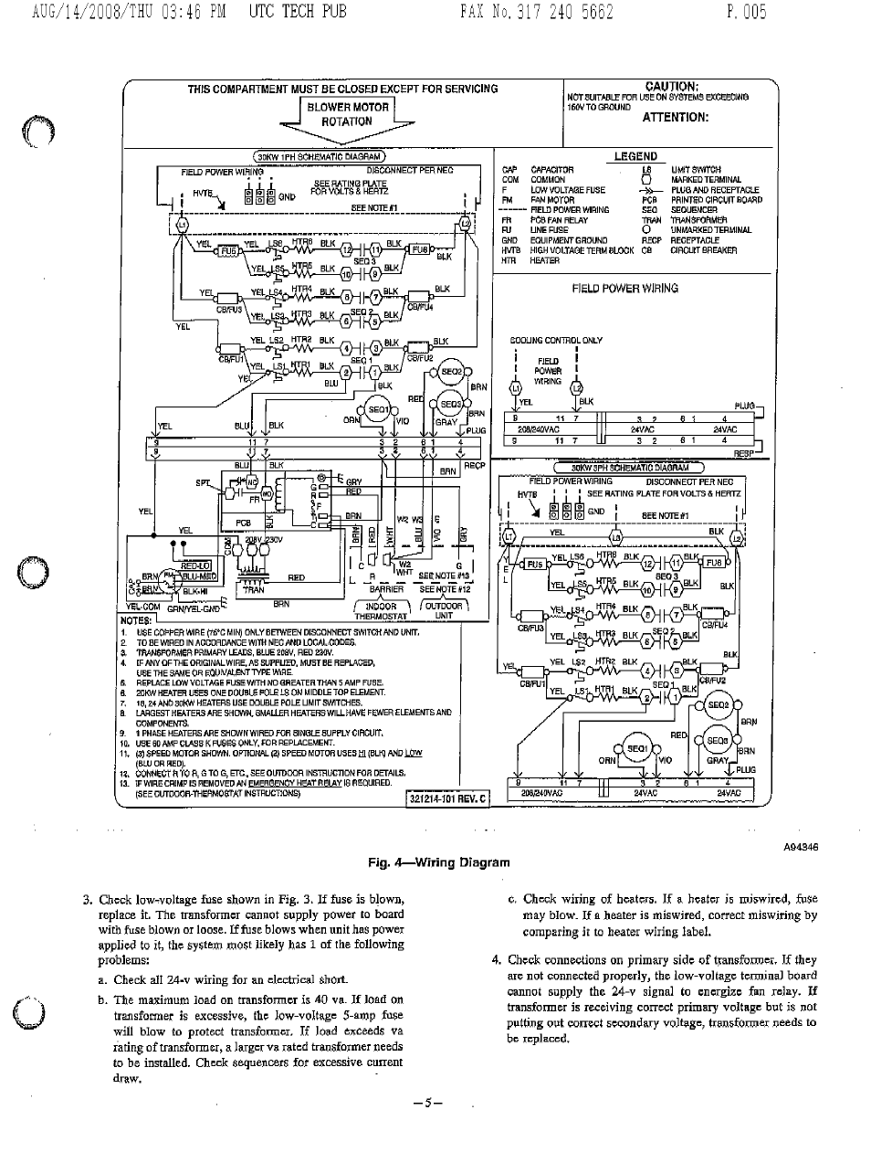 Pig  4 U2014 Wiring Diagram  Utc Tech Pub