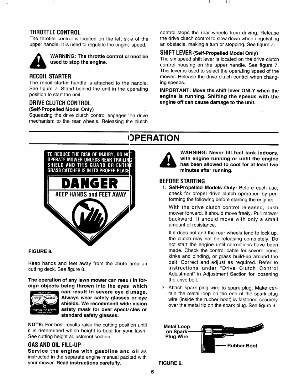 throttle control recoil starter drive clutch control bolens 124 rh manualsdir com bolens bl110 user manual Instruction Manual
