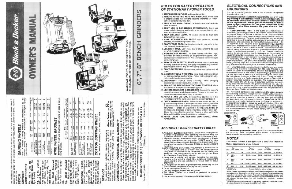 Incredible Black Decker 724156 01 User Manual 2 Pages Machost Co Dining Chair Design Ideas Machostcouk
