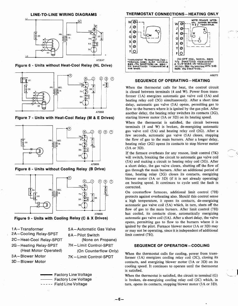 User U0026 39 S Manual Of Electric Furnace Fan Relay Wiring Diagram