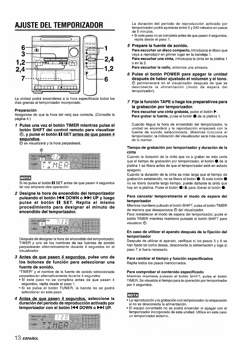 aiwa nsx v2100 user manual page 30 52 original mode rh manualsdir com Aiwa Nsx D707 Aiwa Nsx D22