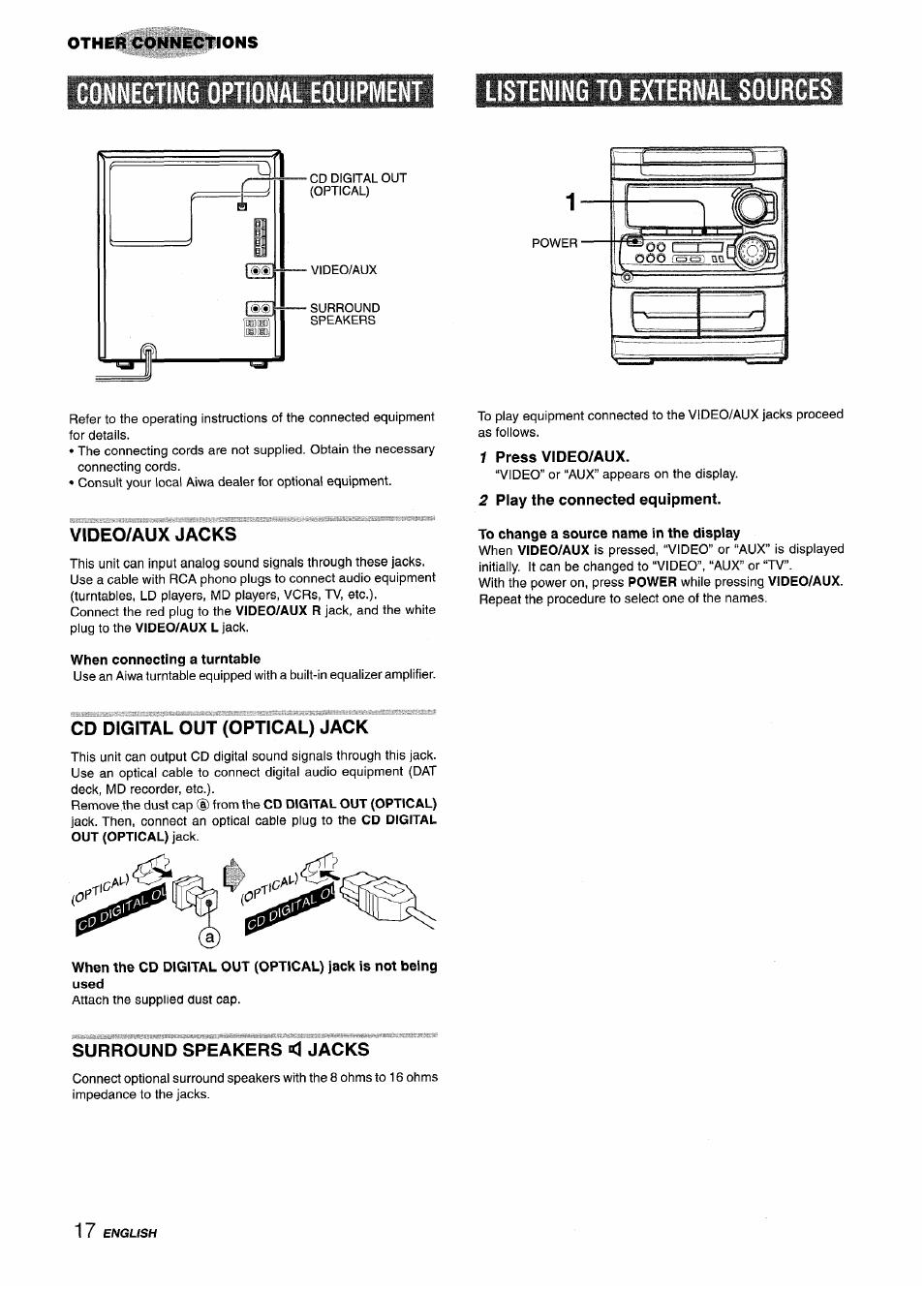 Aiwa cx-na303 manual.