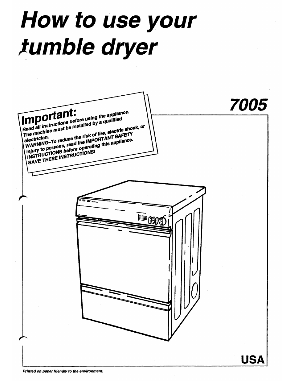 ASKO 7005 User Manual | 12 pages Asko Dryer Schematic Wiring Diagram on