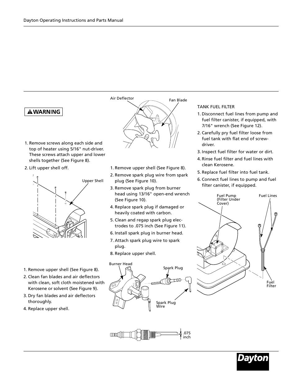 Dayton 3e359b User Manual Page 7 24 Also For 3e358b