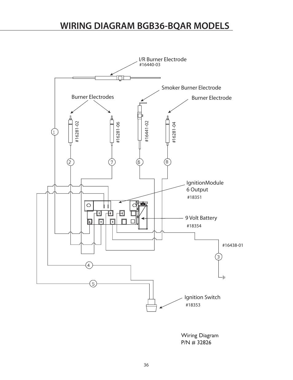 Wiring Diagram Bgb36
