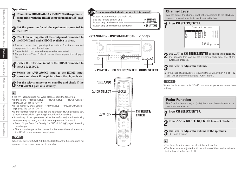 denon avr 2809ci user manual page 62 102 original mode rh manualsdir com denon avr 2809ci manual service denon avr-2809ci manual pdf