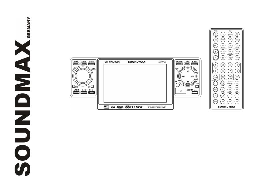 Инструкция Soundmax SM