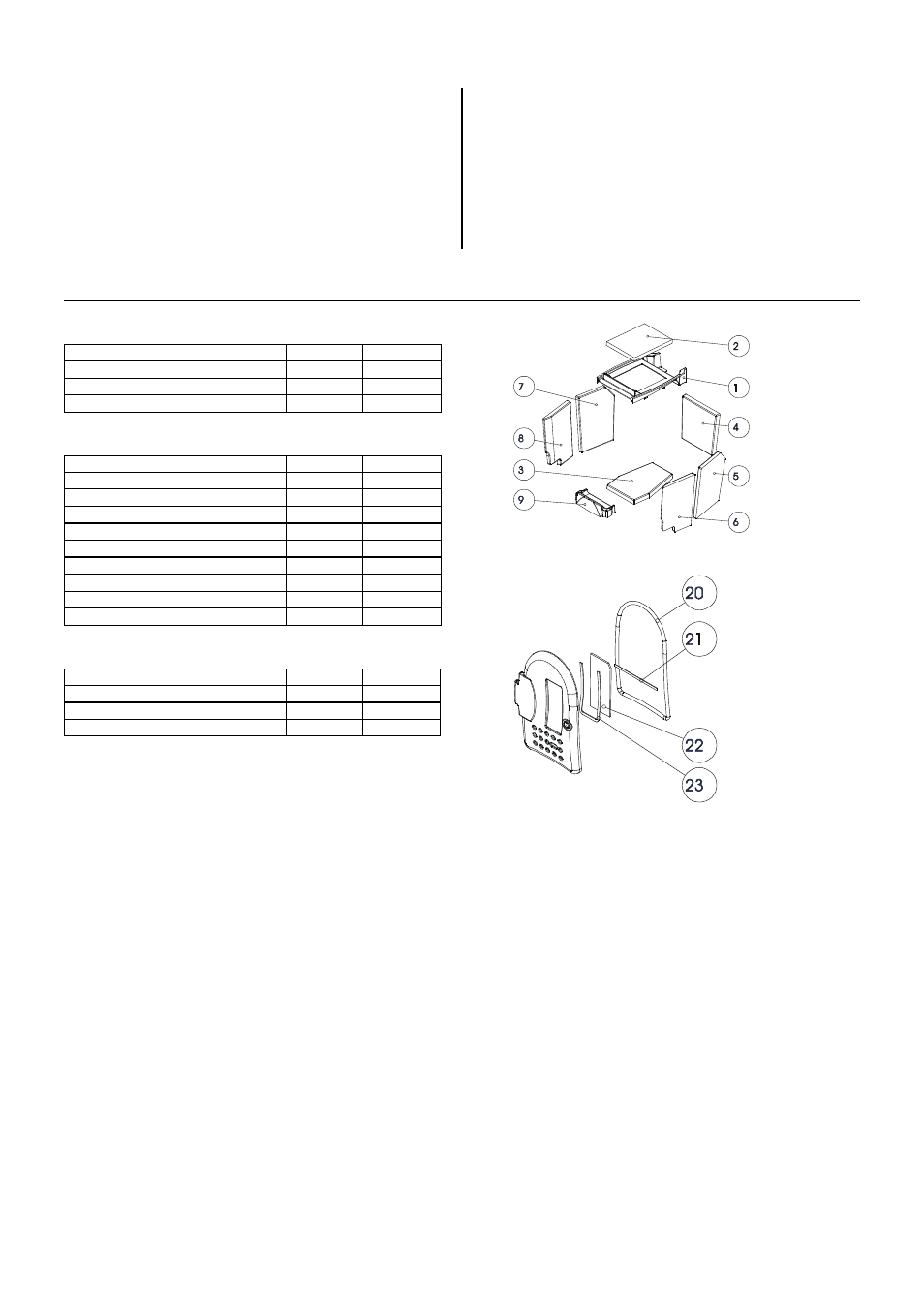 The most important spares—overview, Gaskets, Keramott ...