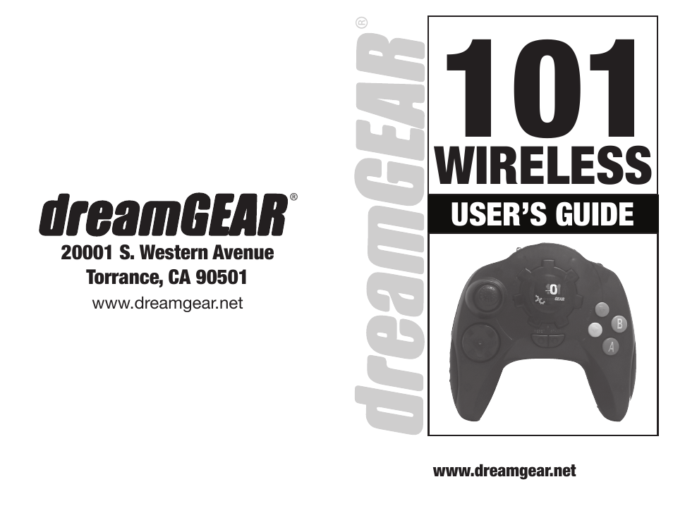 dreamgear 101 wireless user manual 8 pages rh manualsdir com Dream Gear Plug and Play Dream Gear PS3 Elite Gaming Headset