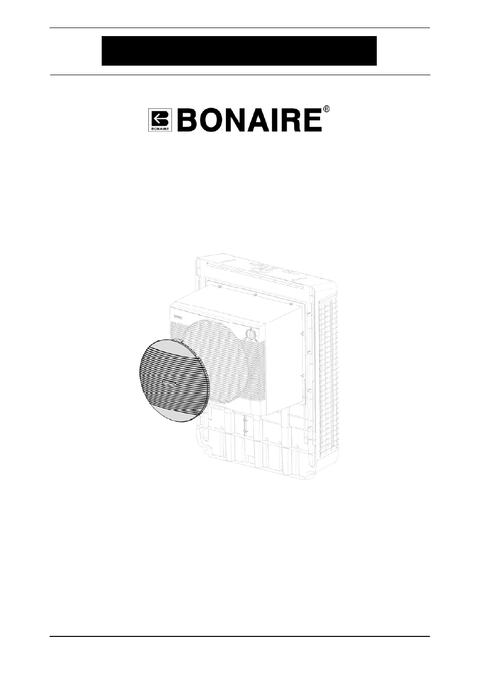 Bonaire Durango Winter Cover User Manual 4 Pages
