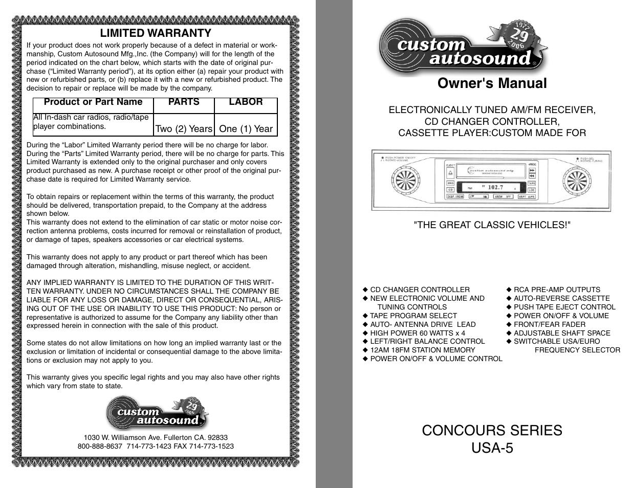 Custom Autosound Usa