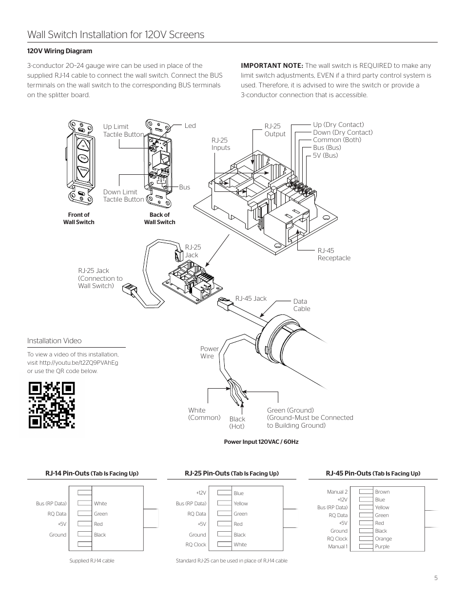 da-lite-viewshare-tensioned-advantage-electrol-page5 Elitech Projector Screen Wiring Diagram on