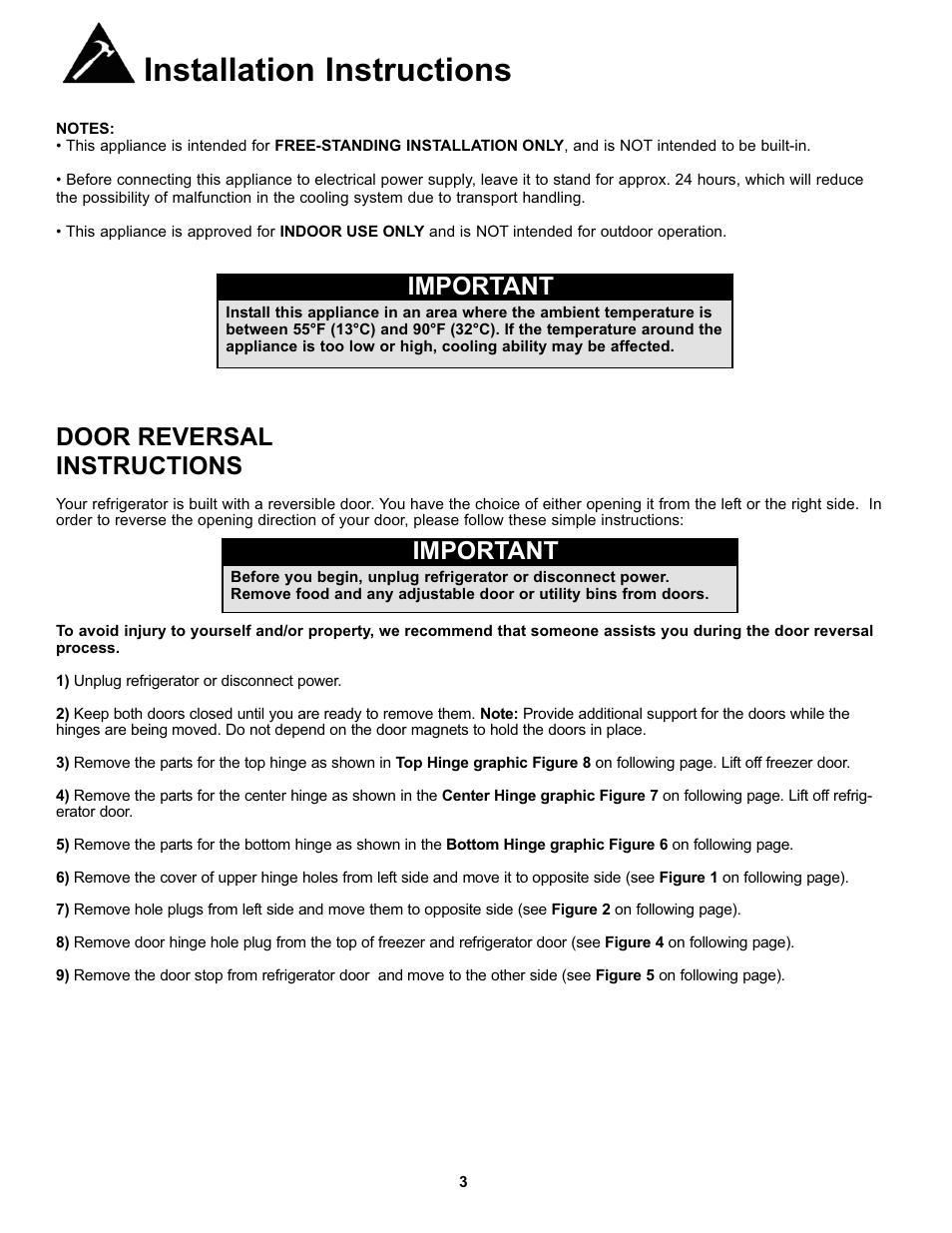 Danby dr299blsglp user manual | 35 pages | original mode.