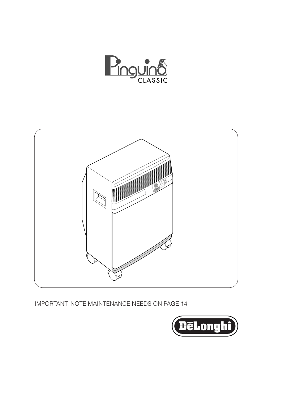 Delonghi Pinguino Pac 250 U User Manual 15 Pages