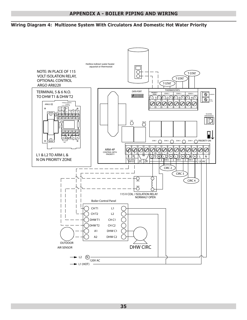 Dunkirk Boiler Control Wiring Great Installation Of Diagram Honeywell Burner Dhw Circ Appendix A Piping And Q95m 200 Rh Manualsdir Com