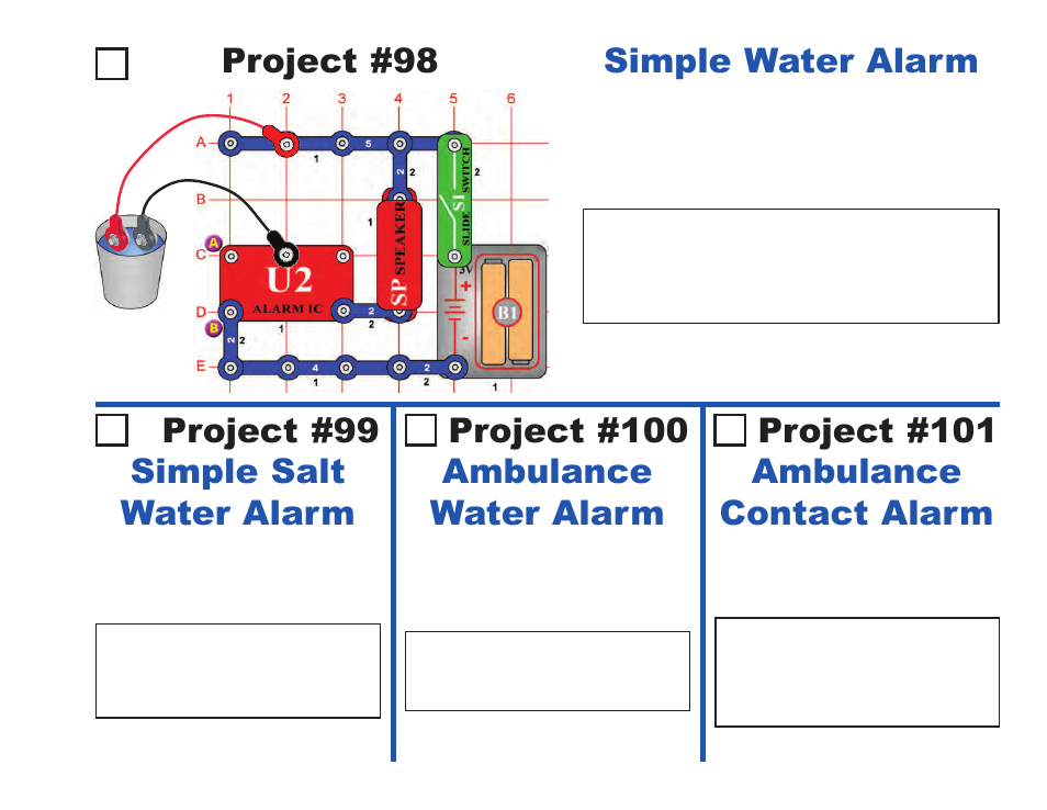 project 99 simple salt water alarm project 100 ambulance water rh manualsdir com Ambulance Wiring Diesel Truck Engine Diagram