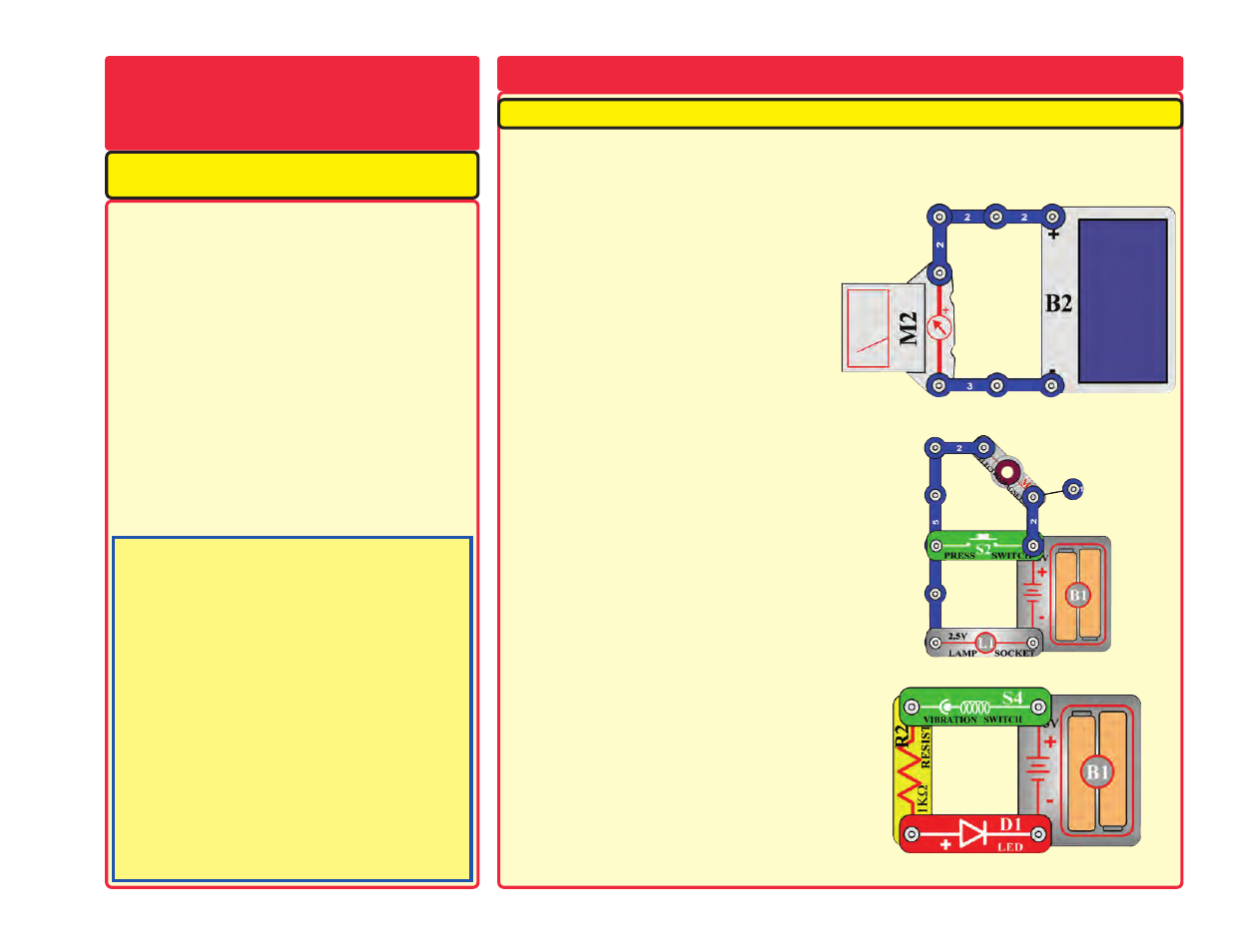 More Advanced Troubleshooting About Your Snap Circuits Elenco Circuitsr By Elencor Replacement Parts Projects 512
