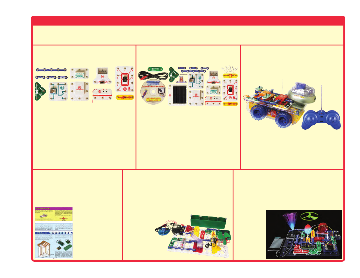 Other snap circuits, Projects, Upgrade kit | Elenco Upgrade