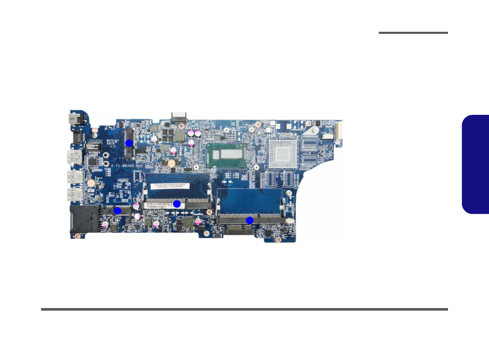 mainboard overview bottom key parts mainboard overview bottom rh manualsdir com Owner's Manual Instruction Manual Example