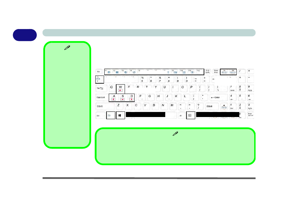 Keyboard - models c & d, Keyboard - models c & d -20