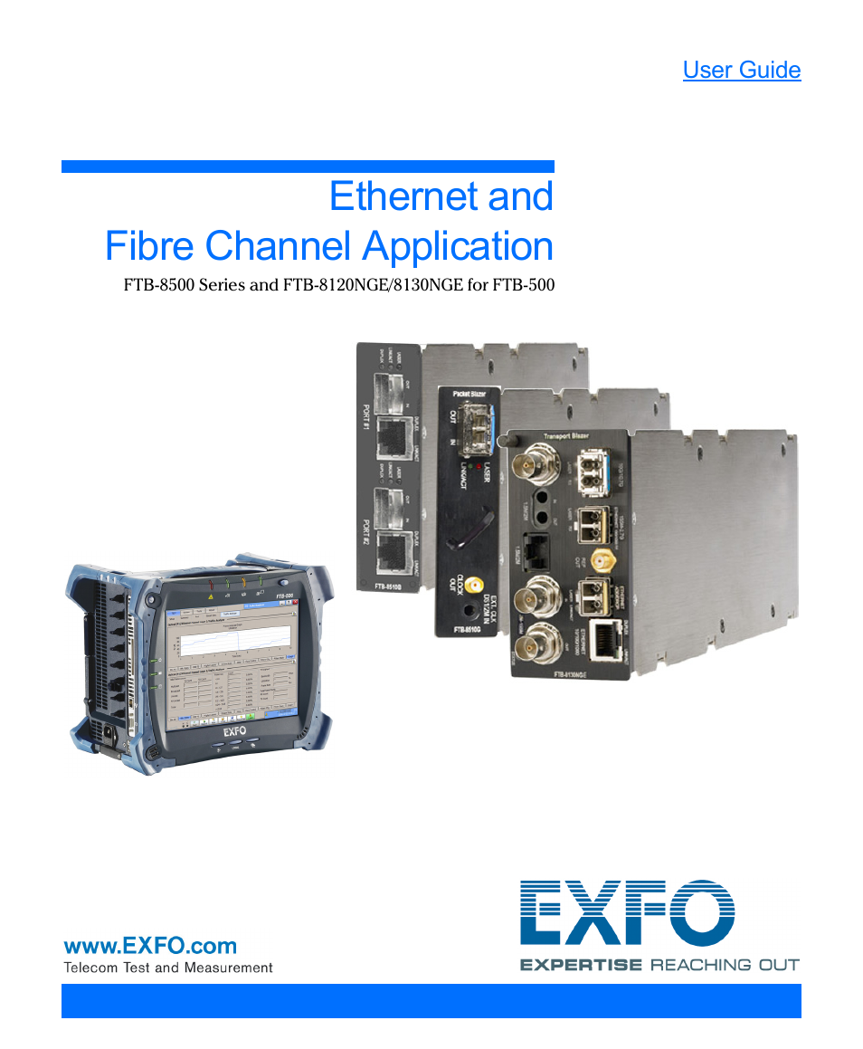 exfo ftb 1 user manual
