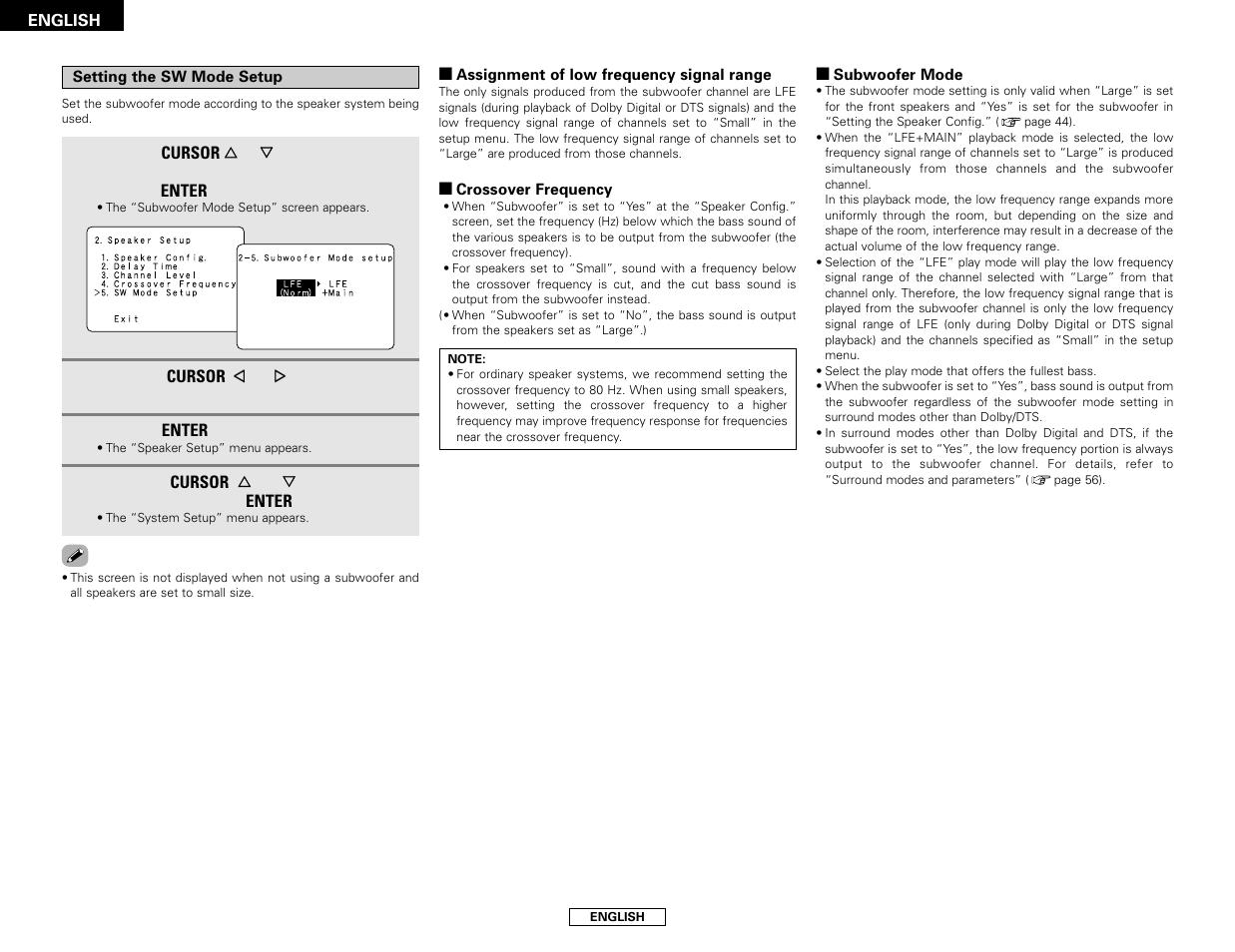 Denon AVR-786 User Manual | Page 50 / 68