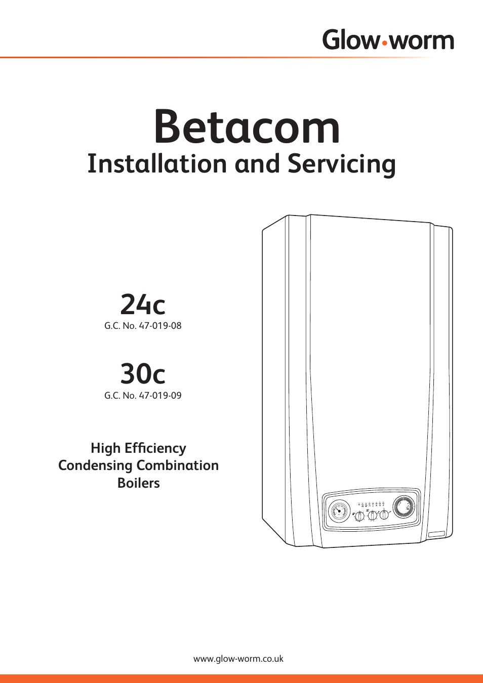 Glow-worm Betacom C User Manual | 68 pages