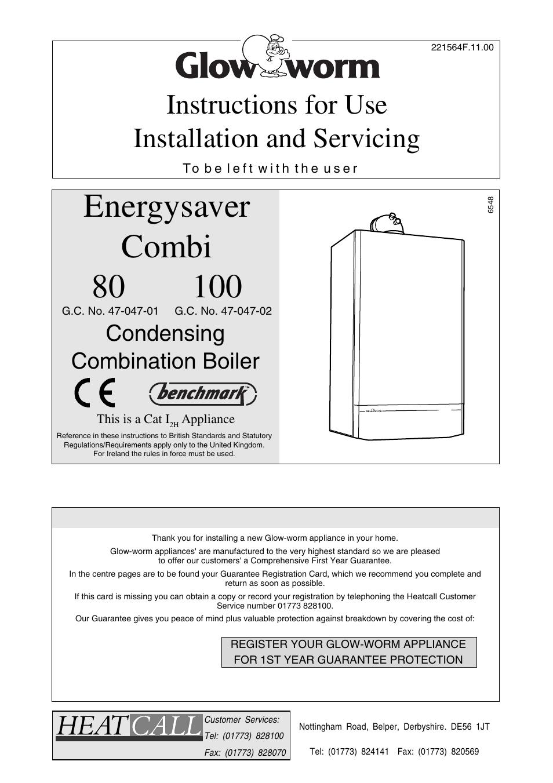 Colorful Glow Worm Combi Boiler Manual Illustration - Wiring Diagram ...
