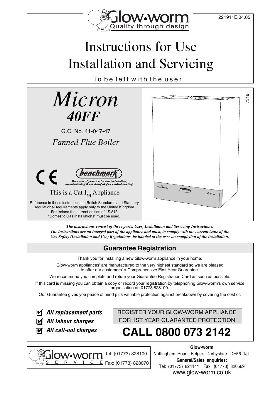 Pretty Glow Worm Combi Boiler Manual Photos - Wiring Diagram Ideas ...