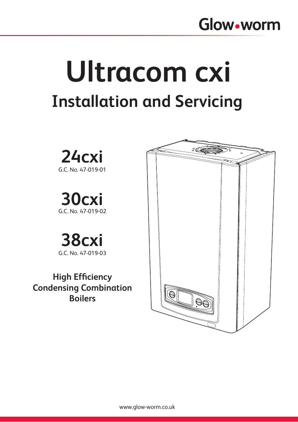 Glow-worm Ultracom cxi User Manual | 68 pages