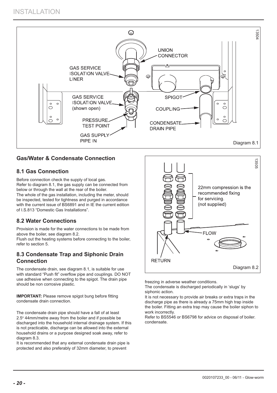 Luxury Glow Worm Boiler Manual Image Collection - Electrical Circuit ...