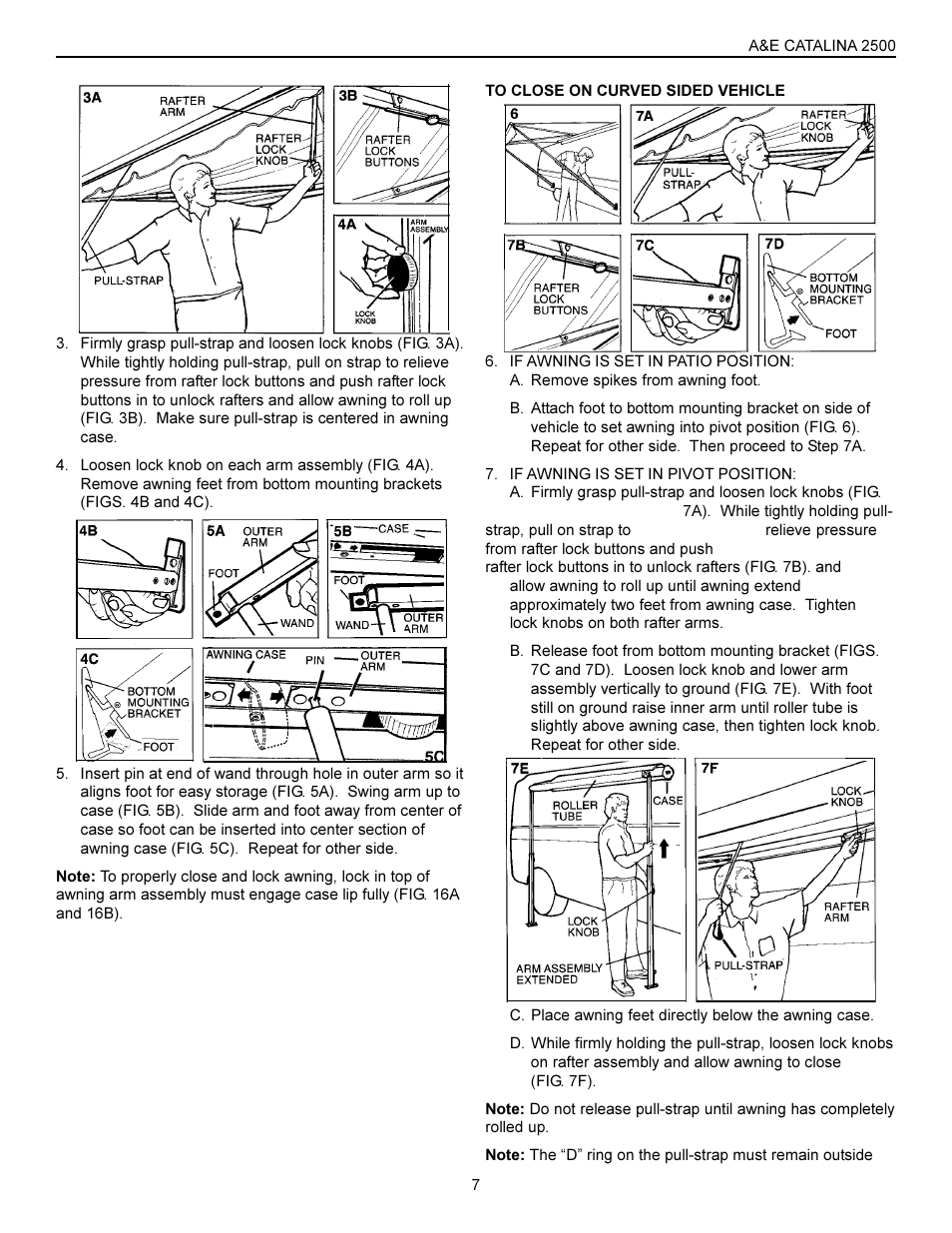 Dometic 2500 User Manual | Page 7 / 8